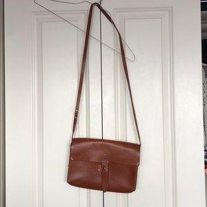 Madewell Brown Leather Crossbody
